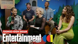 'Arrow' Stars Stephen Amell, Katie Cassidy & Cast Join Us LIVE   SDCC 2019   Entertainment Weekly