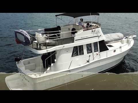 Mainship 390 Trawlervideo