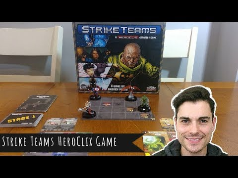 Strike Teams Heroclix Review + How it Works