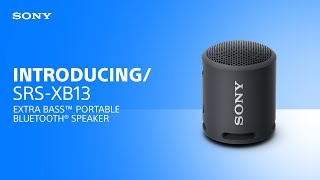 YouTube Video PtD8ATdNylQ for Product Sony SRS-XB13 Wireless Speaker by Company Sony Electronics in Industry Speakers