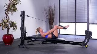 Bend and Stretch with Leg Pulley