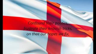 "English National Anthem - ""God Save The Queen"" (EN)"