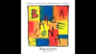 """Video thumbnail of """"""""Exercises In Free Love""""- Freddie Mercury & Montserrat Caballe - Barcelona [Special Edition] (2012)."""""""