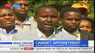 Youth Professionals of Kenya seek to be included in the Cabinet