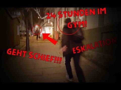24 STUNDEN IM GYM/FITNESSSTUDIO (GEHT SCHIEF!!!)   MIRCOSLIFESTYLE