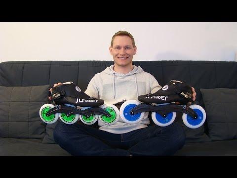 10.03.2016 - Alex' Speedskate Equipment 2016 | DEUTSCH Junker inline speed skating HD www.eAlex.me