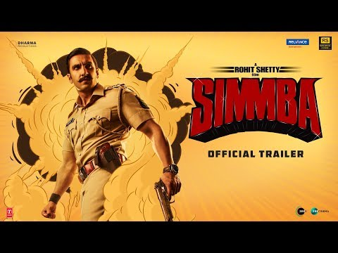 Simmba - Movie Trailer Image