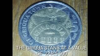 Rare SOUTH AFRICA GRIQUA COIN