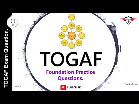 TOGAF 9 Practice Questions and Answers | TOGAF 9 sample ...