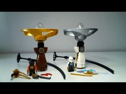 Vidéo LEGO Ninjago 70742 : Airjitzu de Zane