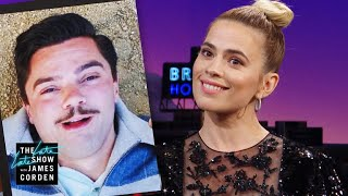Hayley Atwell Made T-Shirts of Dominic Cooper at His Worst