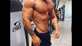 Kim Angel Male Fitness model Chest Motivation