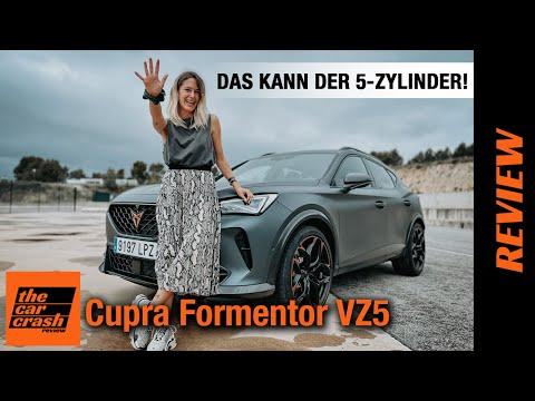 Cupra Formentor VZ5 (2021) Das kann der Fünfzylinder mit 390 PS! ✋ Fahrbericht | Review | Test