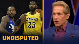 Skip and Shannon react to Kawhi's Clippers topping LeBron's Lakers in 2019 opener | NBA | UNDISPUTED