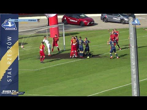 WIDEO: Stal Rzeszów - Podhale Nowy Targ 2-1 [BRAMKI]