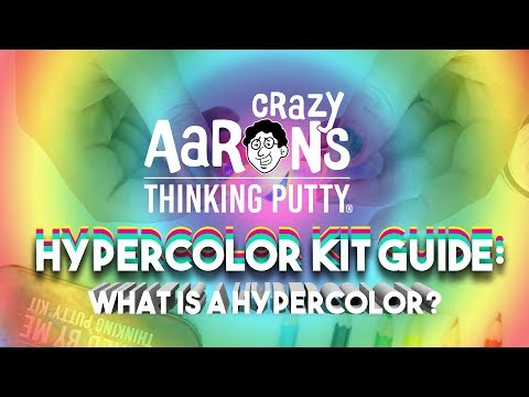 Crazy Aaron's Hypercolor - Mixed By Me Thinking Putty Kit