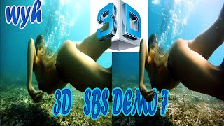 3D SBS Demo (side by side ) vol 7 picture remastered by wyh