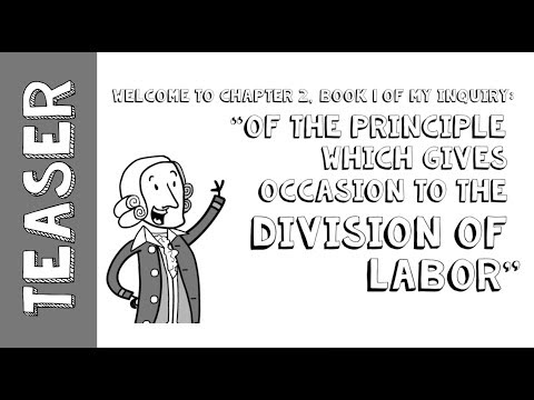 Teaser: Adam Smith's The Wealth Of Nations - Book 1 Chapter 2 Mp3