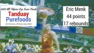 2000 All Filipino PBA Semi Finals Game 1 Tanduay vs. Purefoods