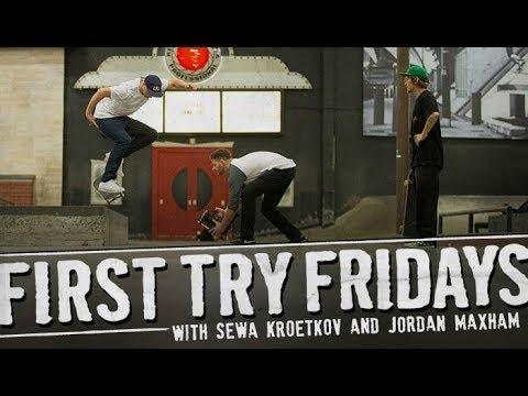 Sewa Kroetkov - First Try Friday - The Berrics