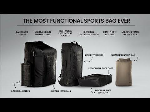Warum wir die cleverste Sporttasche aller Zeiten entwickelt haben | SportHacks® Bag