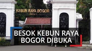 Mulai 6 Juli 2020, Kebun Raya Bogor Kembali Dibuka, Penjualan Tiket via Online, Transaksi Non-tunai