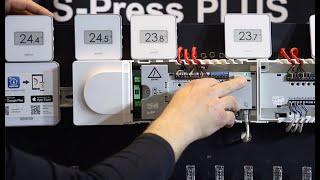 Uponor Smatrix Pulse. Планирование, монтаж и подключение проводной автоматики теплых полов.