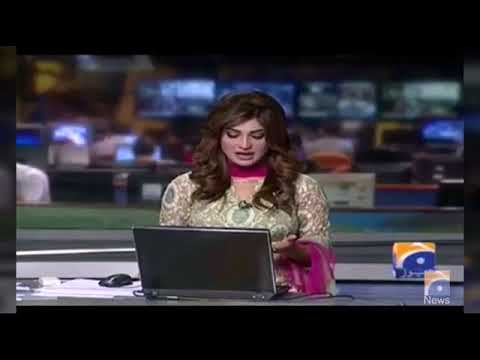 Hifza Chaudry  Geo News Anchor Person