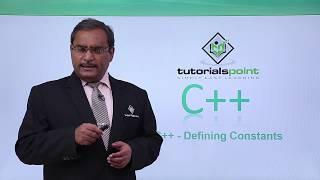 C++ - Defining Constants