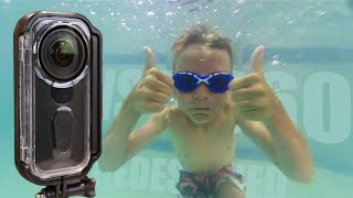 Insta360 One X Venture Case Review | Newly Redesigned Underwater Case!