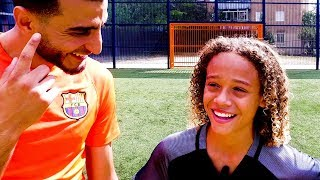 XAVI SIMONS   INTERVIEW & SKILLS