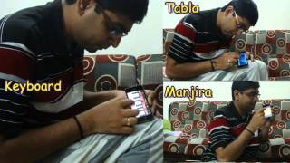 Sukhkarta Dukh harta | Ganesh Aarti | Instrumental on iPhone