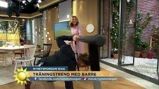 Här Ramlar Peter Jihde I Direktsändning - Nyhetsmorgon (TV4)