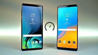 Samsung Galaxy Note 9 vs Note 8 - Speed Test!