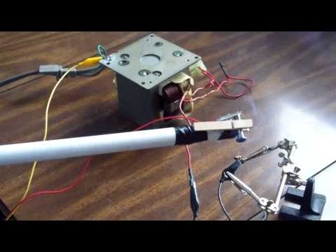 Microwave Oven Transformer (MOT) How-To
