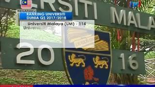 PM UCAP TAHNIAH 5 UNIVERSITI DI MALAYSIA ANTARA 300 TERBAIK DUNIA [9 JUN 2017]