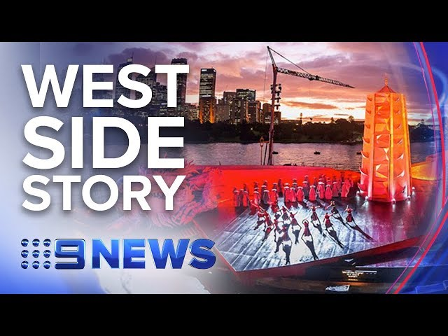 Hit Broadway musical West Side Story takes Sydney's iconic harbour-side stage | Nine News Australia