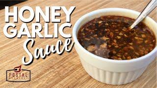 Honey Garlic Sauce Recipe - How to Make Honey Garlic Sauce Easy