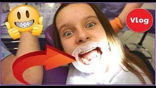 MÓJ NOWY APARAT NA ZĘBY - wizyta u ortodonty - VLOG / Amelie