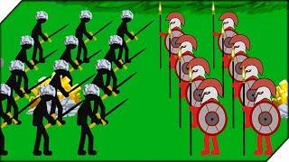 СТИКМЕНОВ КОПЬЕТОНОВ НЕ ПОБЕДИТЬ - Stick War Legacy HARD MODE # 2