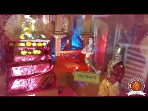 Sudesh Mhatre Home Ganpati Decoration Video