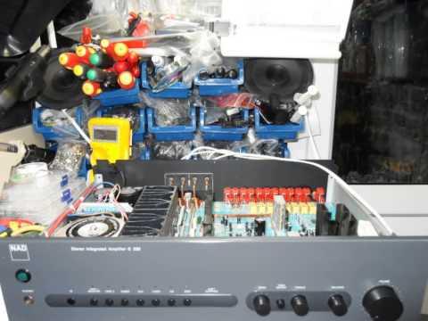 NAD C320 Amplifier Repair - смотреть онлайн на Hah Life