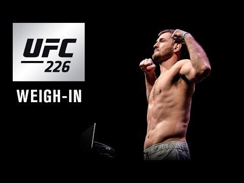 La pesée de l'UFC 226