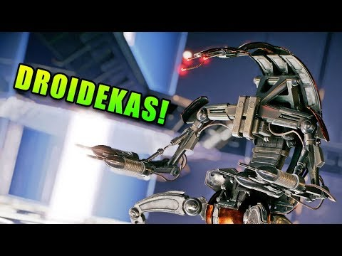 Droidekas are Finally Here! Star Wars Battlefront 2