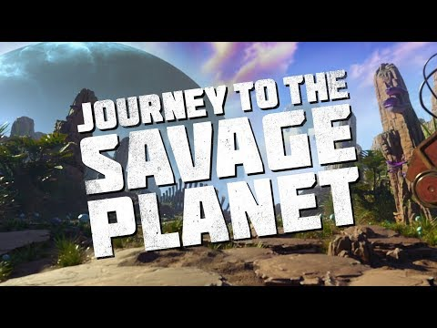 The Game Awards Reveal Trailer de Journey to the Savage Planet