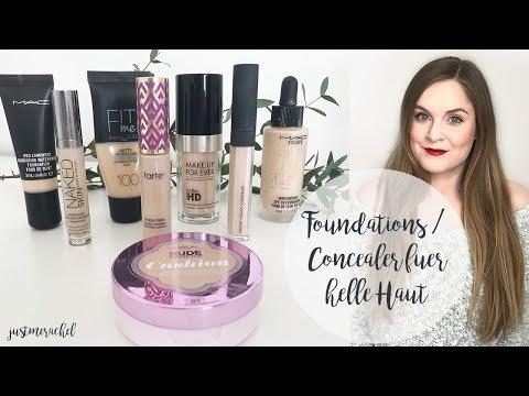 Favoriten: Foundations & Concealer für helle Haut | justme.rachel