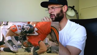 "Rugby Player Reacts to MIKE ALSTOTT ""The A Train"" Buccaneers NFL Highlights"