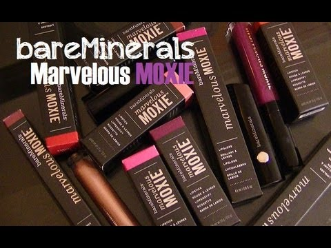 Something to Talk Apout 4-Piece Mini Moxie Plumping Lipgloss Collection by bareMinerals #4