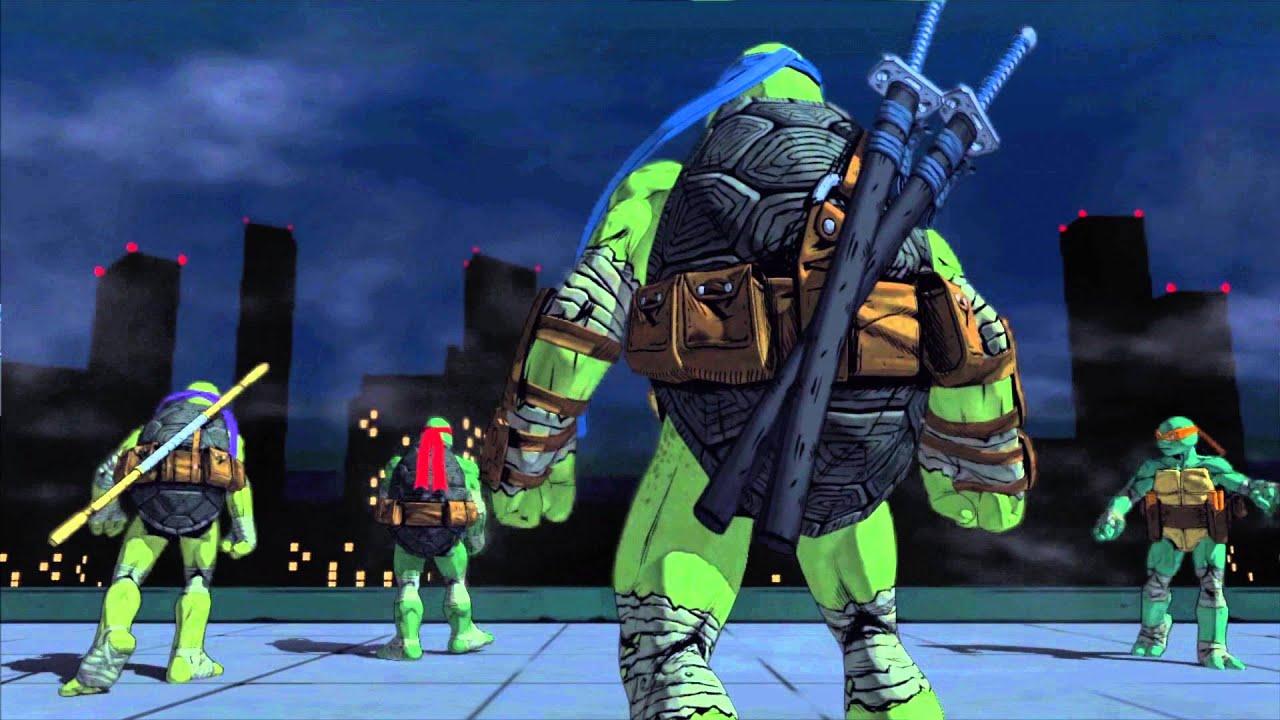 Teenage Mutant Ninja Turtles: Mutants in Manhattan announced for PS4 & PS3