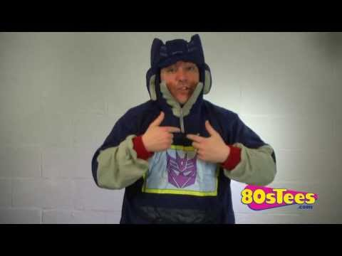 Soundwave Costume Hoodie Video